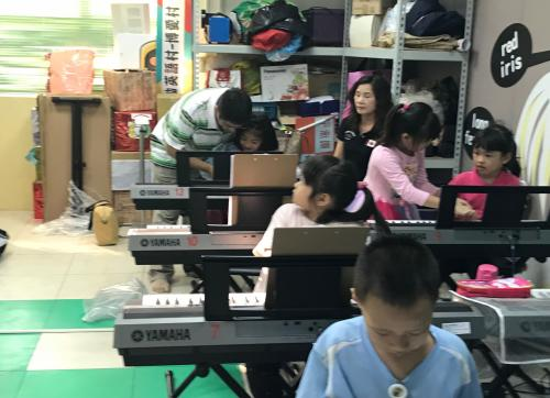 鍵盤交響樂團體課