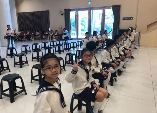 直笛團練習表演與比賽